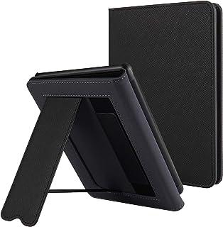 CoBak Kindle Paperwhiteケース – 2018年発売Kindle Paperwhite第10世代用自動スリープウェイク機能付き最新PUレザースマートカバー、Black