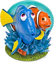 Penn Plax Finding Nemo Resin Ornament for Aquariums, Dory and Marlin, 4-Inch