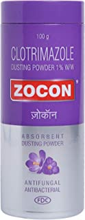 Zocon Absorbent Dusting Powder - 100 g (Pack of 3)