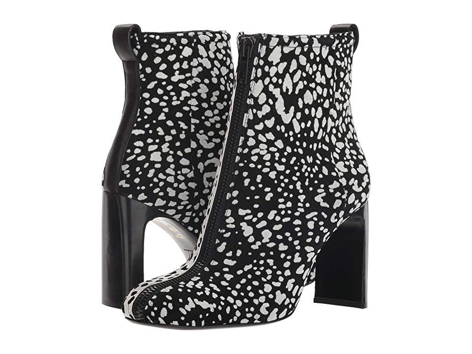 rag & bone Ellis Zip Boot (Black/White Cheetah) Women