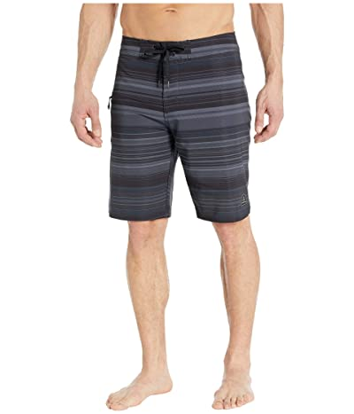 Prana Fenton 10 Boardshorts (Coal Pontoon) Men