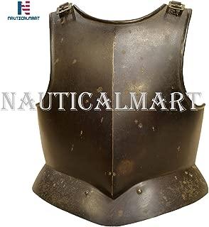 NauticalMart Plate Armour Breastplate Gothic Medieval Body Armor