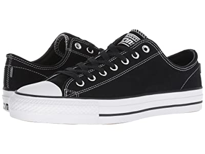 Converse Skate CTAS Pro Ox Skate (Black/Black/White) Lace up casual Shoes