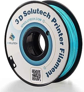 3D Solutech Teal Blue 3D Printer PLA Filament 1.75MM Filament, Dimensional Accuracy +/- 0.03 mm, 2.2 LBS (1.0KG)