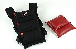 Chaleco de Peso Ajustable (4 - 7 - 10Kg, Incluye Peso) para Entrenamiento Funcional Funcional Fitness / Pro Player