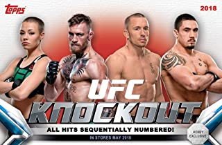 2018 Topps UFC Knockout MINI box (10 cards incl. ONE Relic and ONE Autograph or Autograph Relic card)