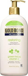 Gold Bond Ultimate Restoring Green Tea & Vitamin C 13 oz ( Pack of 2)
