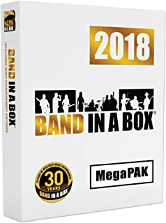 Band-in-a-Box 2018 MegaPAK [Windows DVD-ROM] - Create your own backing tracks