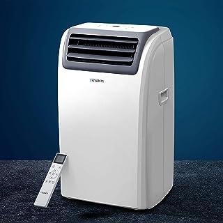 Devanti Portable Air Conditioner Cooling Mobile Fan Cooler Dehumidifier Window Kit White 3300W