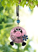 Sunset Vista Designs Farm Fresh Pig Bouncy Hanging Decoration