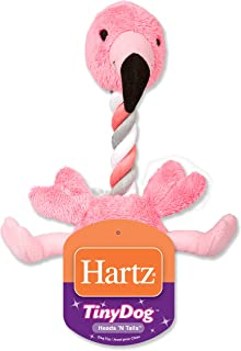 Hartz Tiny Dog Heads n' Tails Plush Rope Dog Toy (Color and Toy Design May Vary)