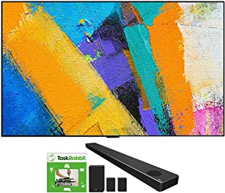 LG OLED77GXPUA 77-inch GX 4K Smart OLED TV with AI ThinQ (2020 Model) Bundle SN11RG 7.1.4 ch High Res Audio Sound Bar with...