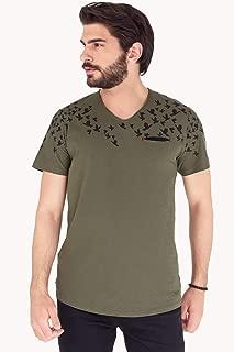 Kuş Baskılı Tshirt