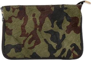 Tirabasso Shop donna Borsa pochette militare pelleMade In Italy 967