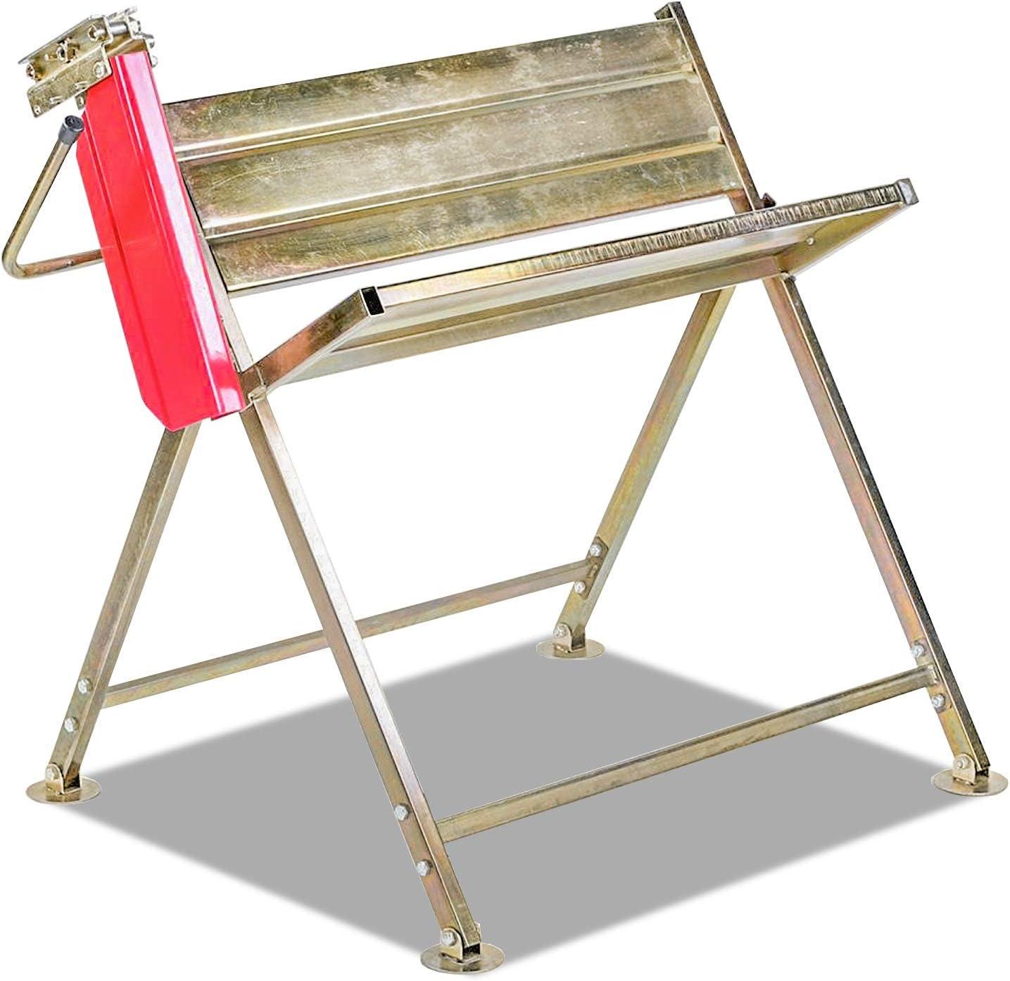 Ureprism Soporte para motosierra de acero inoxidable, ajustable, ideal para cortar madera, peso máximo, 150 kg