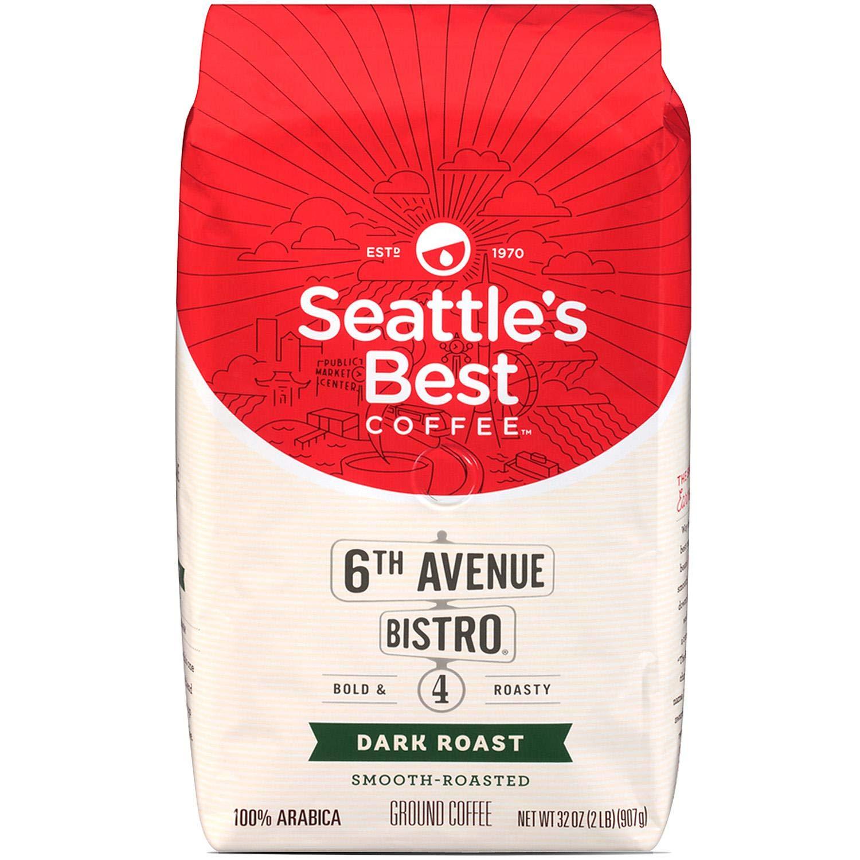 Limited Special Price Seattle's Best 6th Some reservation Avenue Bistro Level Coffe 4 Roast Dark Medium