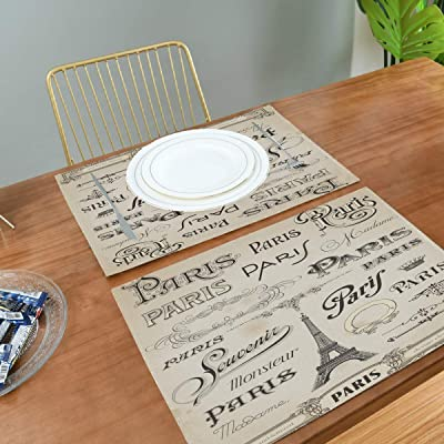 Amazon Com Jacksome Cookie Placemats Set Of 4 Place Mats For Kitchen Dinning Table Farmhouse Table Decor Home Kitchen
