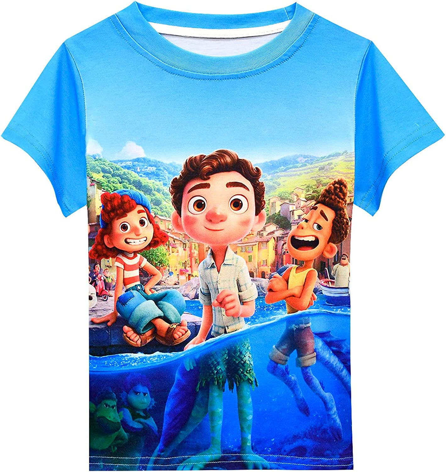 Rogkidha Boys Short Sleeve Sea Summer Cas Tshirt Cartoon Fixed price All items in the store for sale Monster