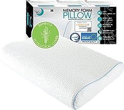 Dreamzie Ergonomische Memory Foam Pillow en Orthopaedic Pillow (60 x 40 cm) OEKO-TEX en Certipur Certified - Nekkussen dat...