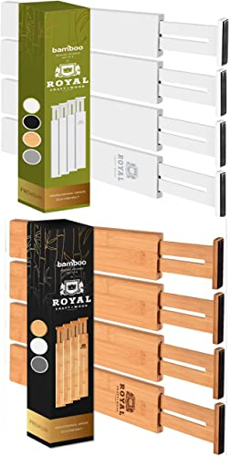 high quality Drawer online Dividers 22IN, White outlet sale and 17IN, Natural online