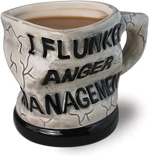 BigMouth Inc Original Anger Management Mug, Holds 16 oz, Ceramic Coffee Mug, Tea Mug, Funny Novelty Gift
