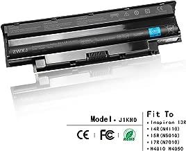 ZWXJ Laptop Battery Type J1KND(11.1V 48Wh) for DELL Inspiron 13R 14R(N4110) 15R(N5010) 17R(N7010) N4010 N5050 M5010 N4050 N5030 J1KND 9T48V Vostro 1440 1450 1540 1550 2420 2520 3450 383CW 4T7JN YXVK2