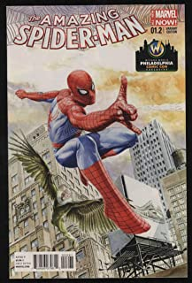 Amazing Spider-Man Vol 3#1.2 Jones Wizard World Philly Variant NM+ W Pgs Exclusive