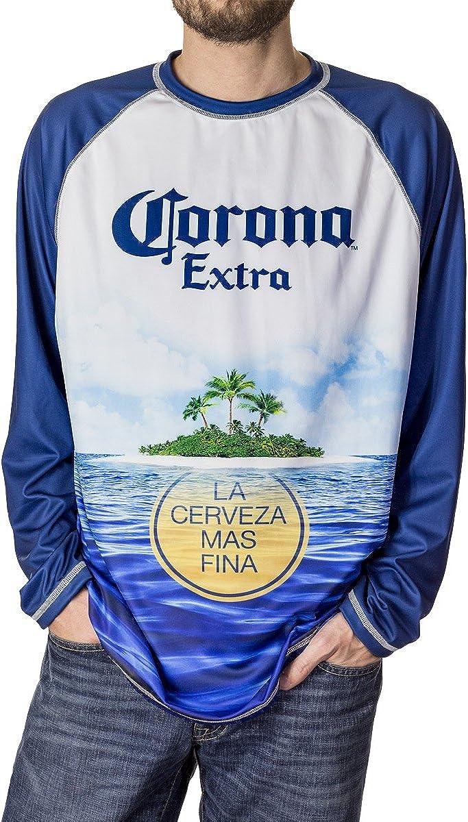 Corona Extra Men's Long Sleeve Rash Guard