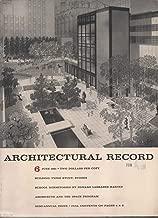 Architectural Record Magazine, June 1963, Issue 6 (Vol 133, No 7)