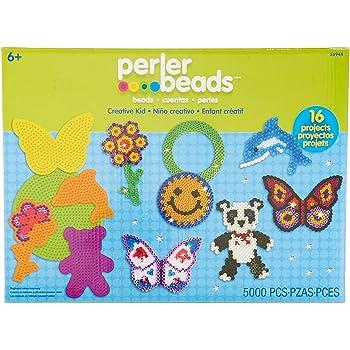 Perler Beads Creative Kid Bead Kit Kids Craft, 5000 pcs