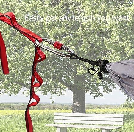 sharprepublic 110//140//180 Cm S/écurit/é Yoga Hamac Escalade Boucle Daisy Chain Sling Sangle Vitesse