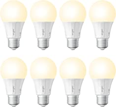 Sengled Smart LED Soft White A19 Bulb, Hub Required, 2700K 60W Equivalent, Compatible with Alexa, Google Assistant & SmartThings, 8 Pack