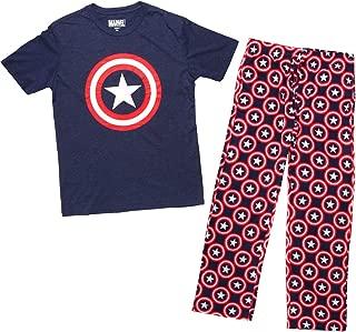 Comics Captain America Avengers Graphic Sleep Set