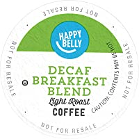 100-Count Happy Belly Decaf Light Roast Coffee Pods