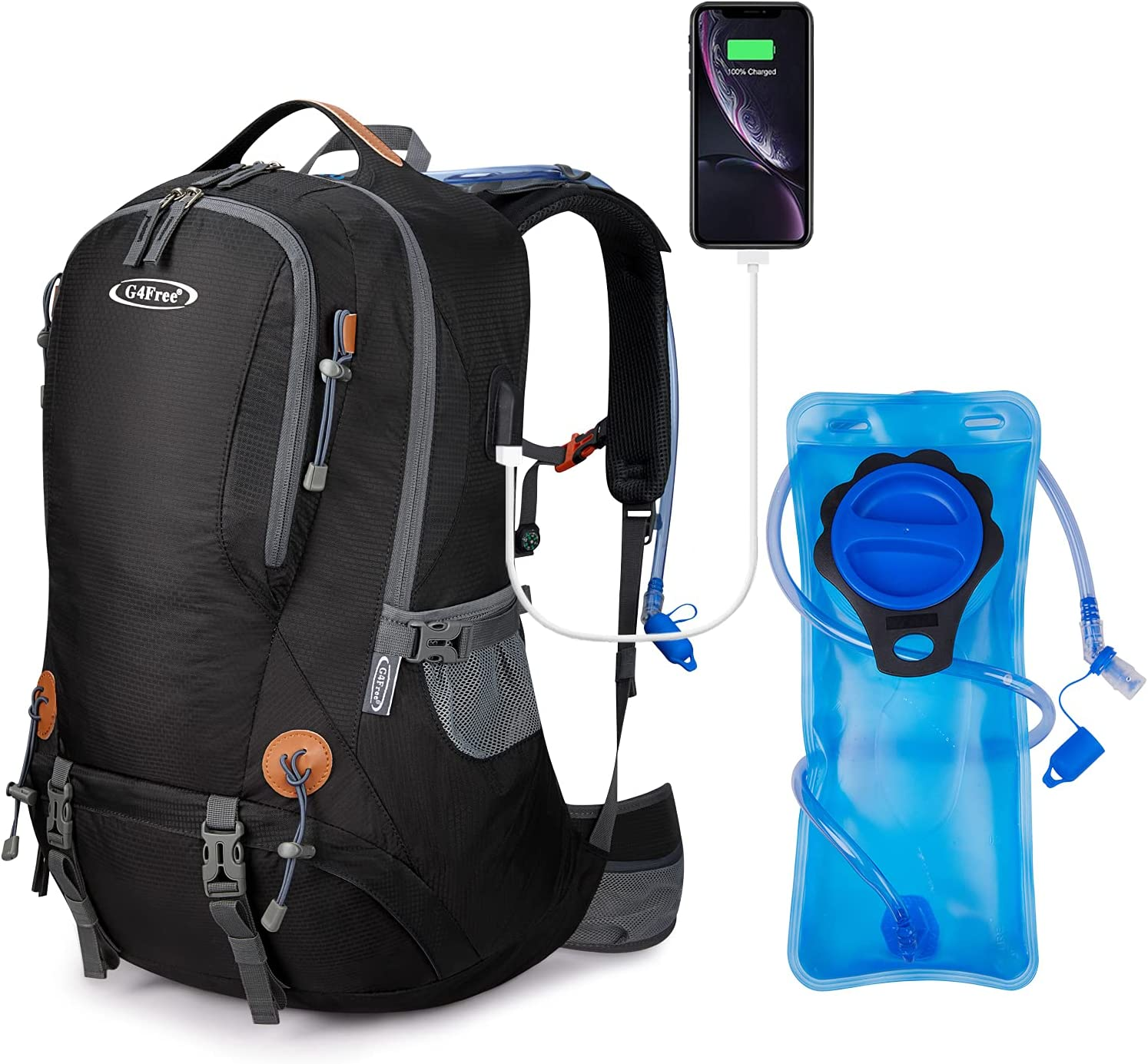G4Free 50L Max 62% OFF Hiking Backpack Waterproof Daypack 2L with Selling BPA B Free