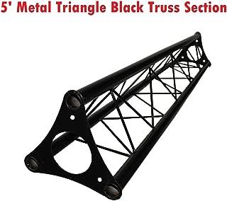 Cedarslink 5ft Lighting Triangle Bolted Truss 5' span Stand Universal DJ Metal NEW