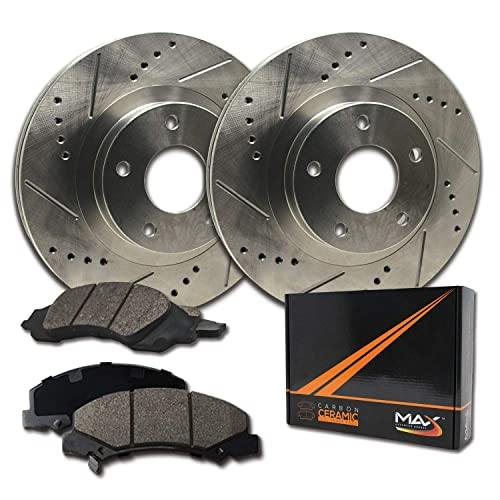 Nakamoto Front Disc Brake Rotor Pair Set for CR-V Prelude Integra TL New