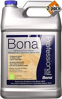 Bona Hardwood Floor Cleaner Refill, 128 oz, Multi (2 Pack)