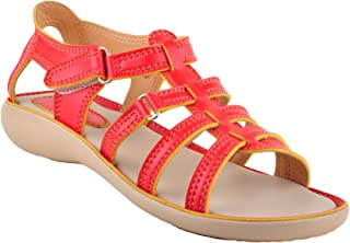 Beanz Lacey Red/Beige for Girls