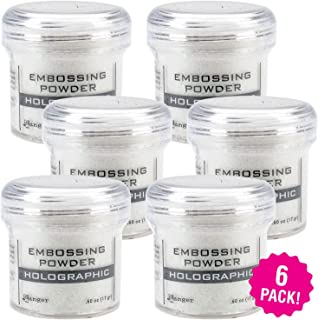 Ranger 95316 Holographic Embossing Powder, Multipack of 6