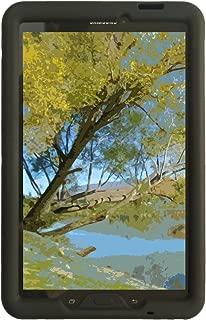 Bobj Rugged Case for Samsung Galaxy Tab E 9.6 (SM-T560, SM-T560NU, SM-T567, SM-T567V) - BobjGear Custom Fit - BobjBounces Kid Friendly (Bold Black)