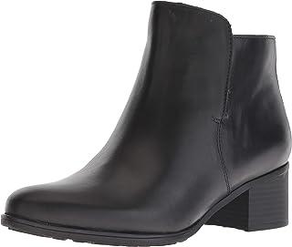 أحذية نسائية طويلة للكاحل بكعب كتلة من الجلد من ناتشيراليزر