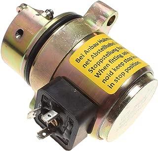 Notonmek 04170534R 04272733 Fuel Shutoff Solenoid Without Wires 12VDC 3 Pins for Deutz BF4M1011F Bobcat Skid Steer Loader 864 873 T200 Gehl Skid Steers SL 6635 SX
