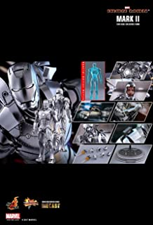 Hot Toys Iron Man Mark II 1/6th Sixth Scale Action Figure DIECAST Movie Masterpiece Series w/ Special Edition Bonus Holographic Mark III collectible - IN STOCK NOW