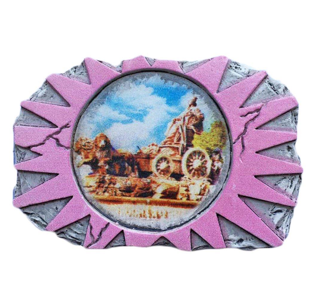 Madrid España Refrigerador Imán 3D Cibeles Square Travel Sticker Souvenirs Collection, Decoración del hogar y de la cocina, Imán de nevera de España de China: Amazon.es: Hogar