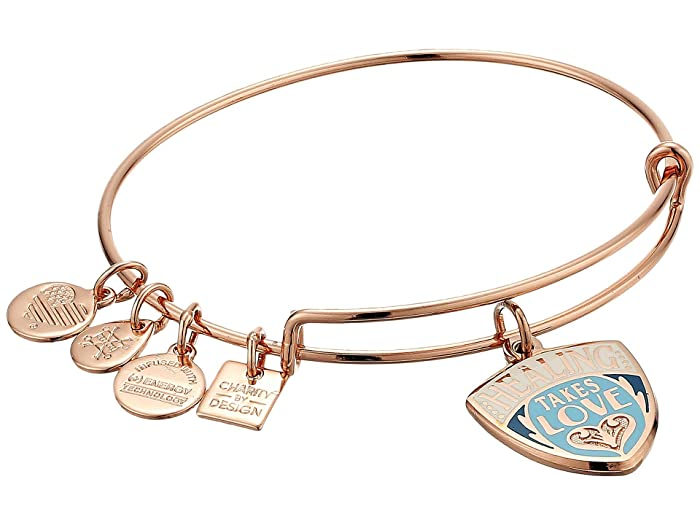 aec7e355effd9 Alex and Ani Charity By Design, Healing Takes Love Charm Bangle ...