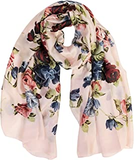Wrapables Silk Like Satin Polyester Large Scarf Wrap