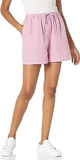 Marca Amazon - Lily - Pantalones Cortos de Cintura Elástica - shorts Mujer por The Drop