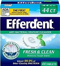 Efferdent Plus Mint Anti-Bacterial Denture Cleanser | 44 Tablets
