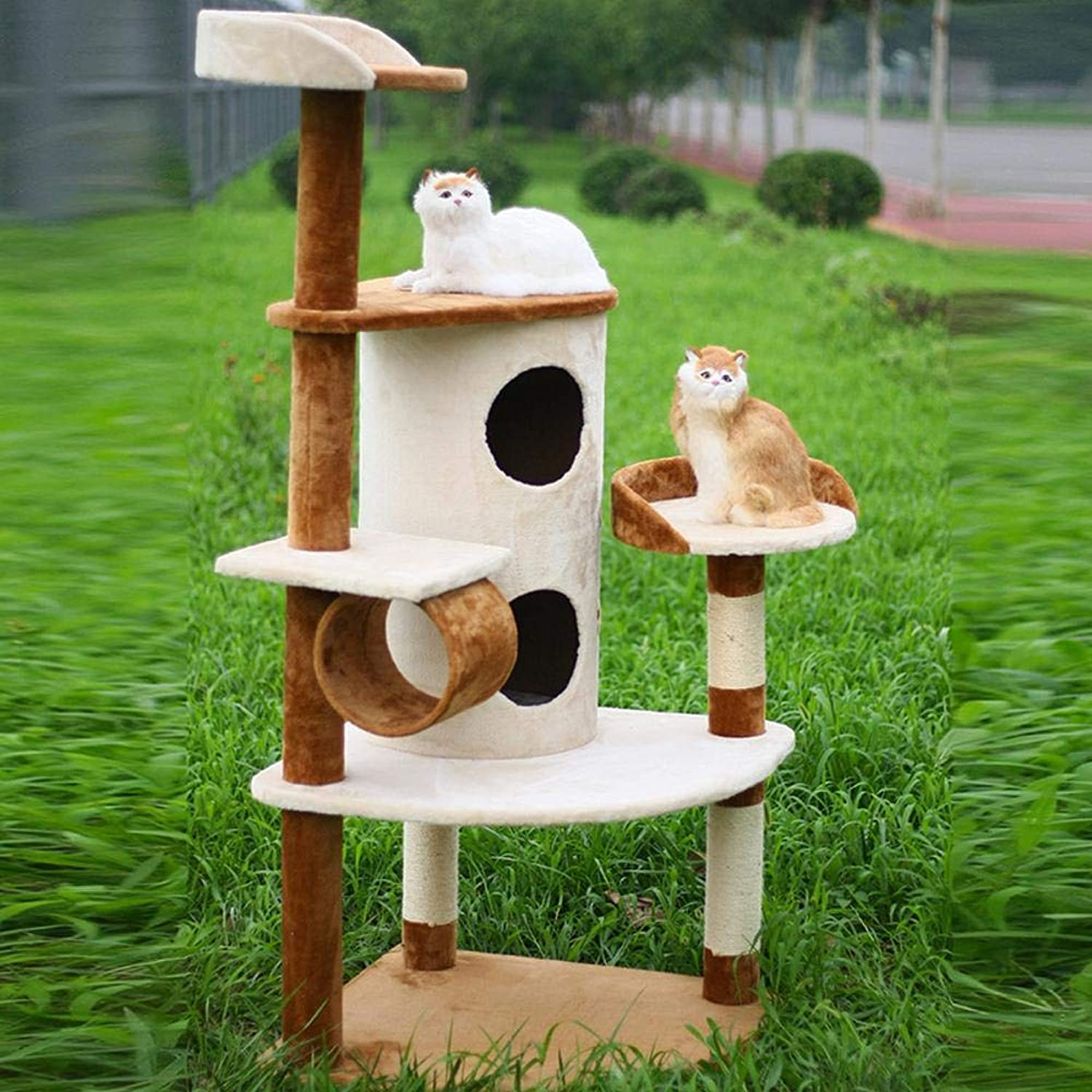 Axiba Play Towers Trees for Cats Cat climbing Frame cat tree cat nest for sleeping games 150cm 64cm  64cm